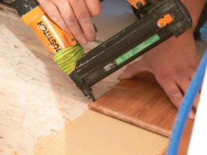 Hardwood flooring instalation